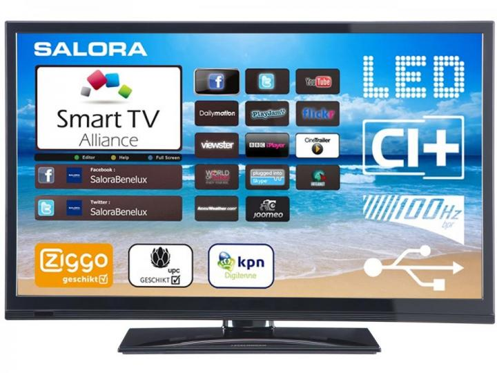 Android Smart TV<br> &amp; Smart TV<br>Salora 32LED8900BK