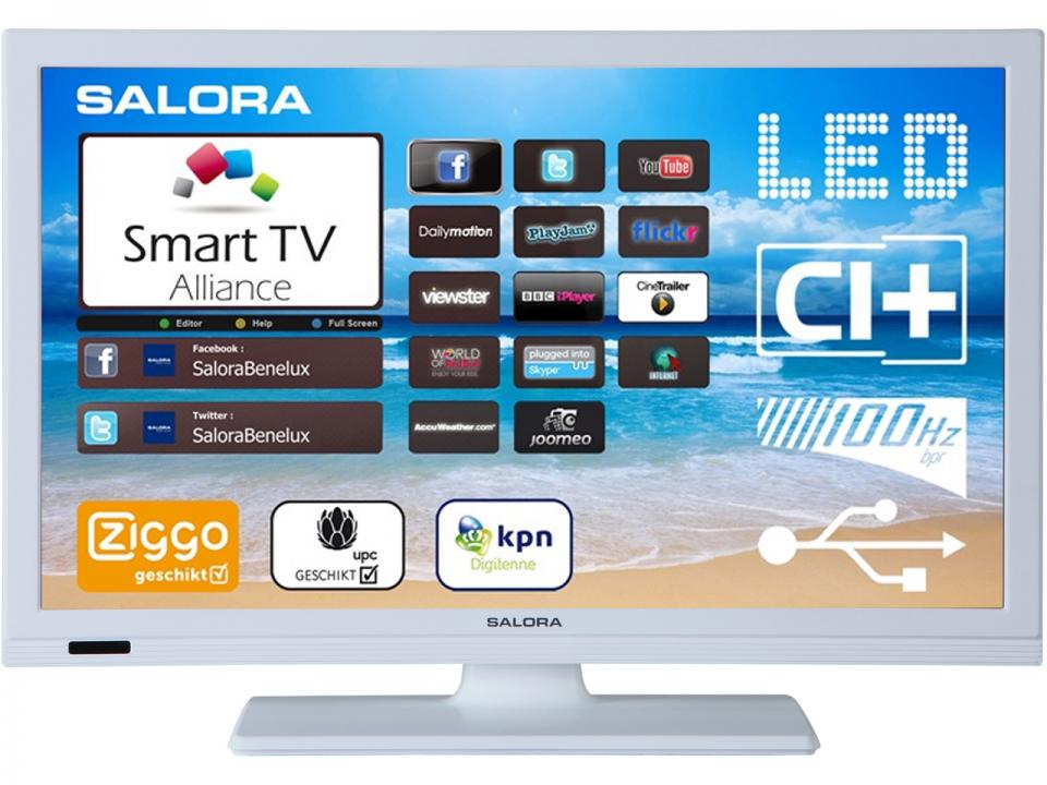 Android Smart TV<br> &amp; Smart TV<br>Salora 32LED8900WH
