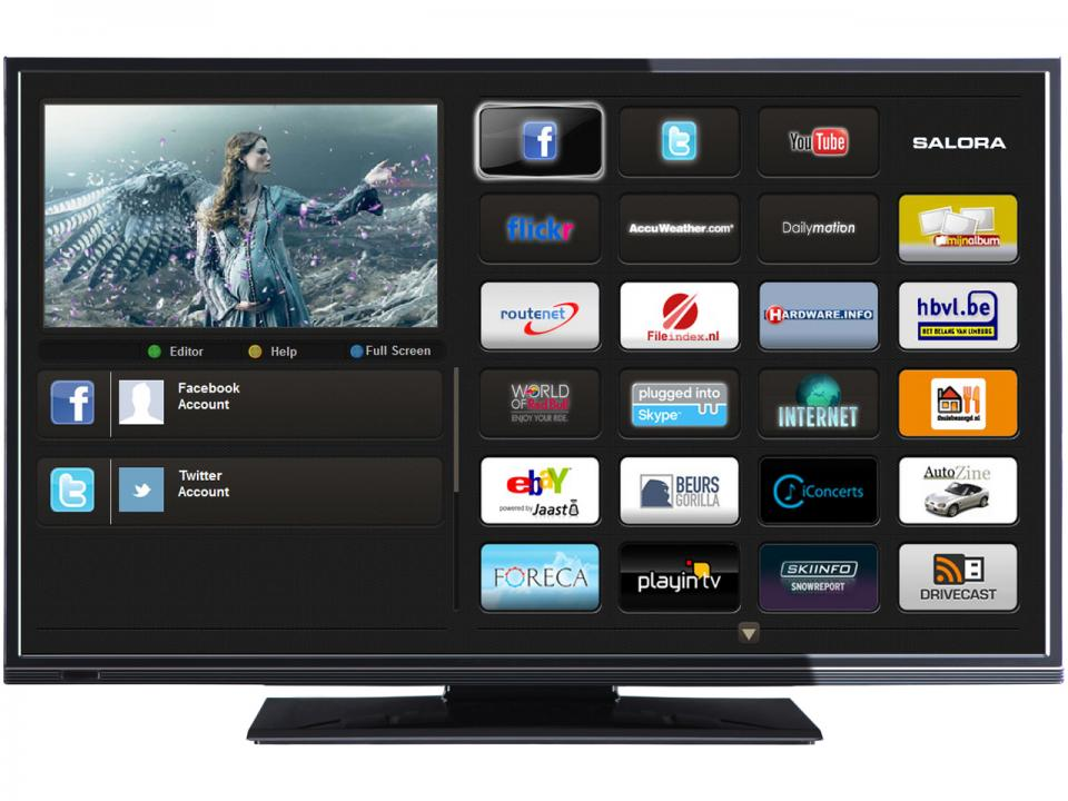 Android Smart TV<br> &amp; Salora<br>39LED8900BK-SMTV