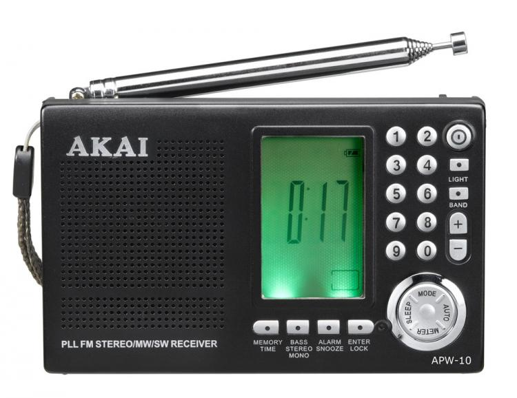 AKAI Portable<br> Radio APW10<br>MULTIBANDA