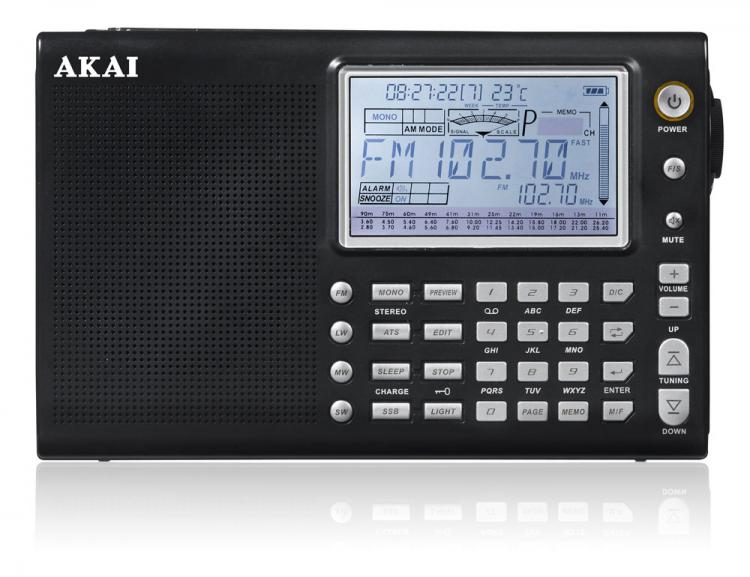 AKAI Portable<br> Radio APW20<br>MULTIBANDA