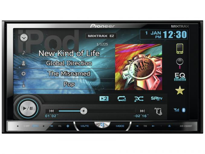 Radio CD with MP3<br> and Bluetooth<br>Pioneer AVH-X5600B