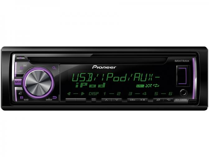 Radio Cd Mp3 With<br>Pioneer DEH-X3600UI
