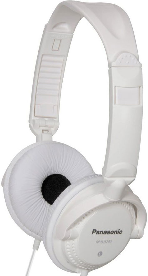 Hi Fi Headphones<br> PANASONIC<br>RP-DJS200EW WHITE