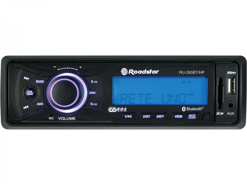 Roadstar Radio<br> Bluetooth Deckless<br>RU-285BT/HP