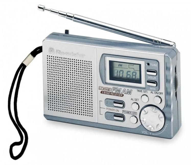 Portable Radio<br>Roadstar TRA-2221D